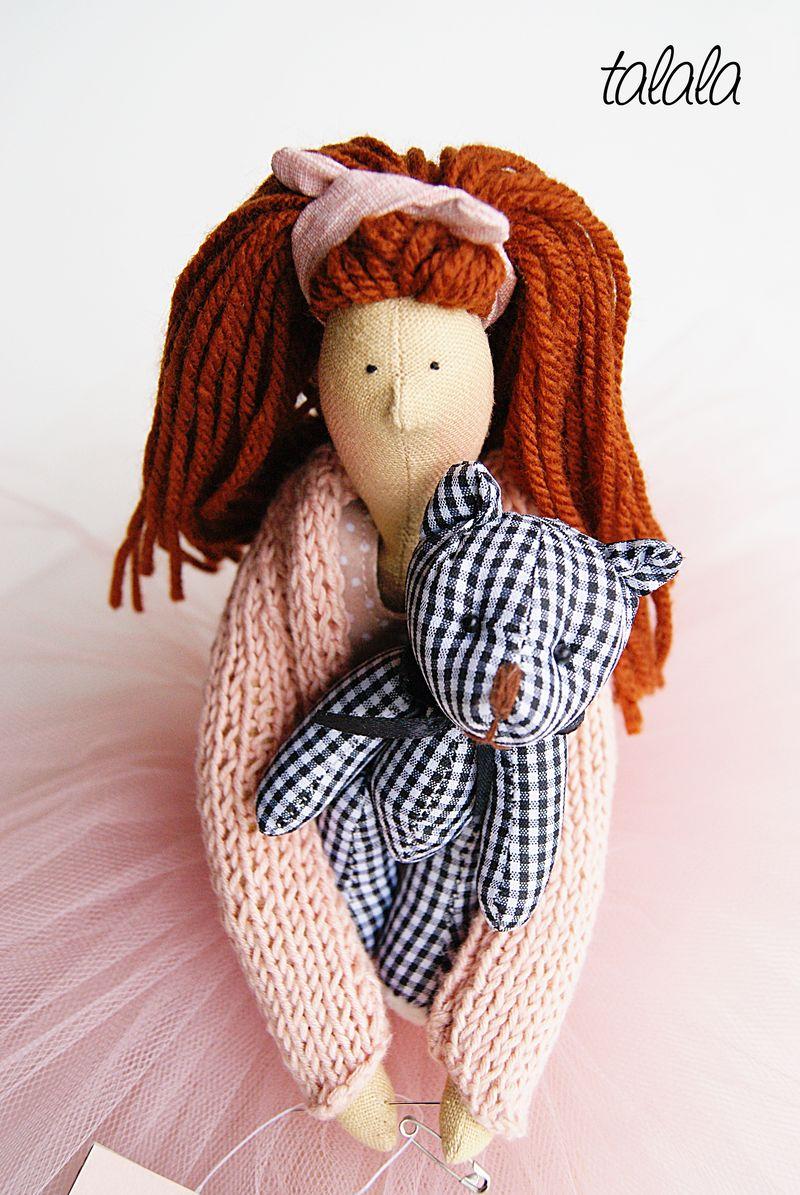 rozbieralna lalka ręcznie szyta