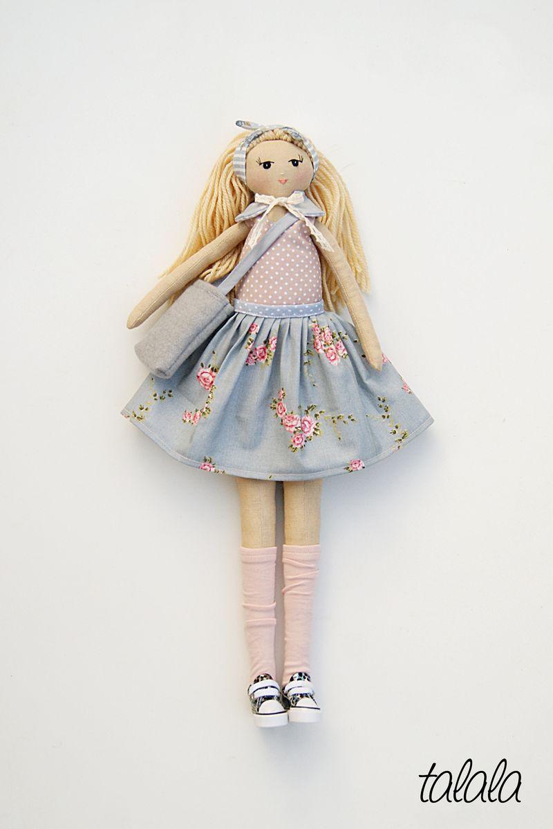 Polskie rękodzieło lalki handmade personalizowane