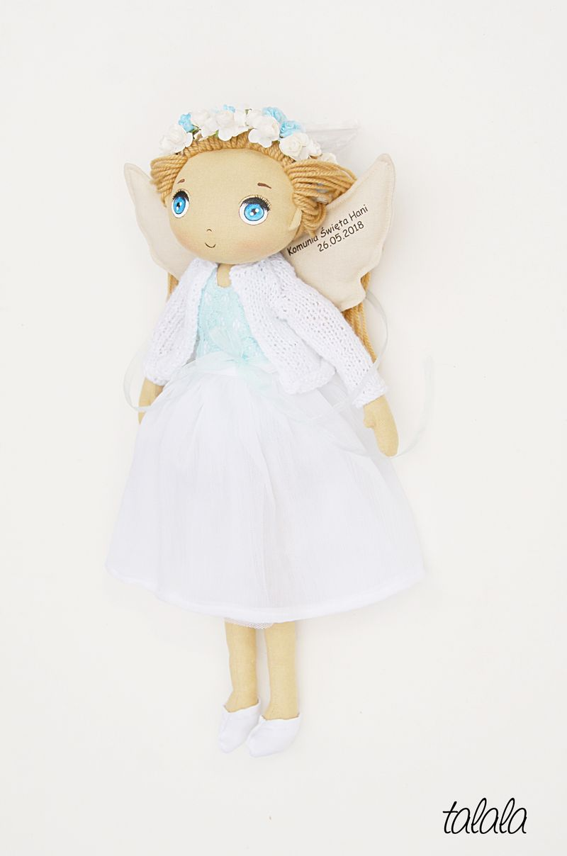 lalki na zamówienie malowane handmade