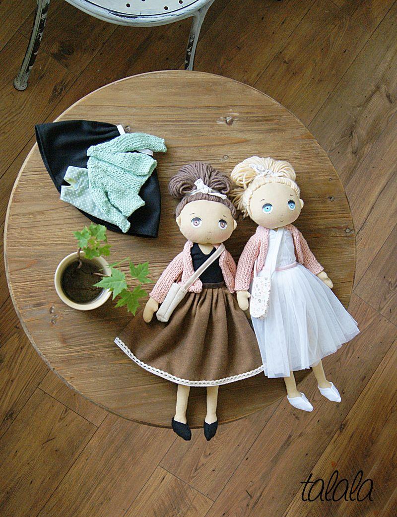 Ręcznie malowane lalki Handmade