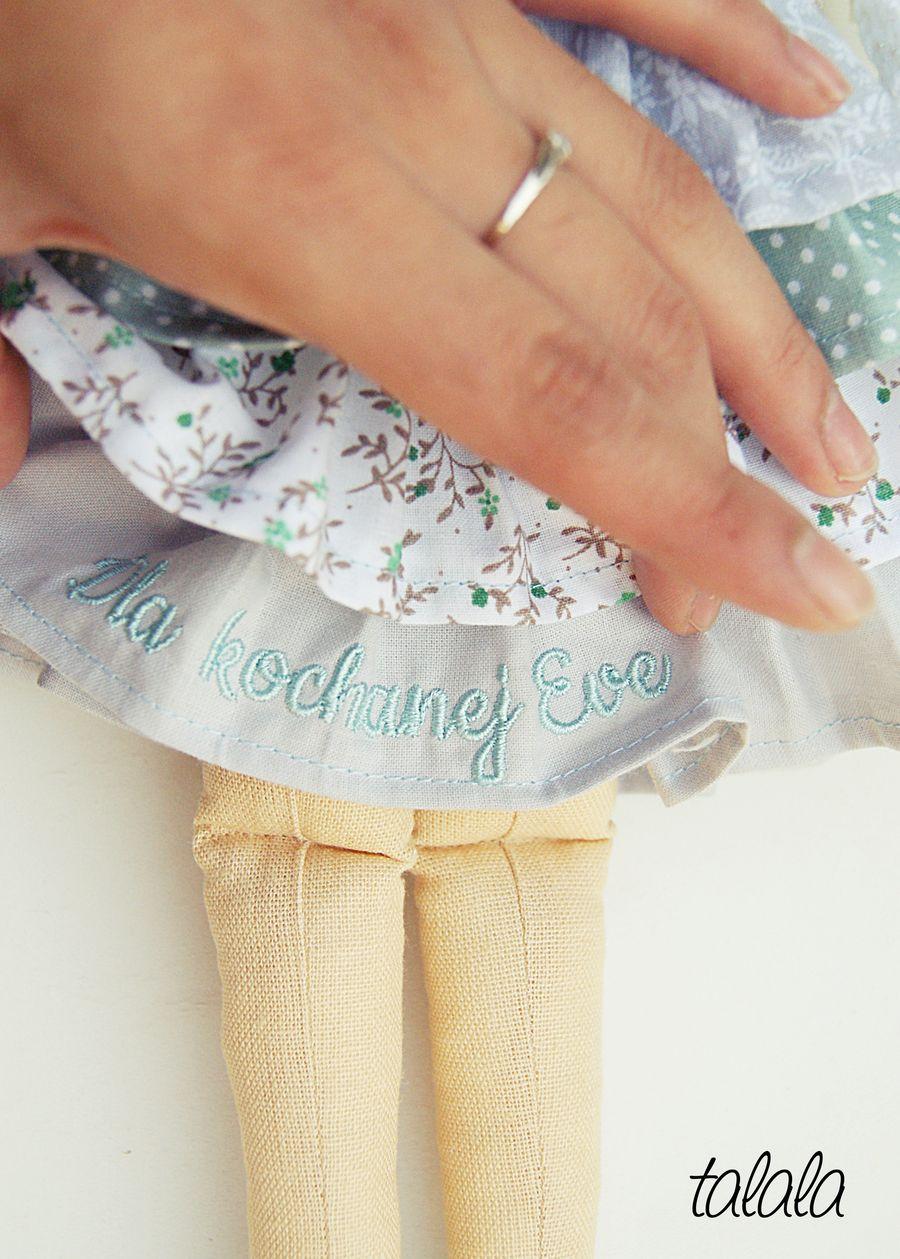 polskie ładne lalki handmade