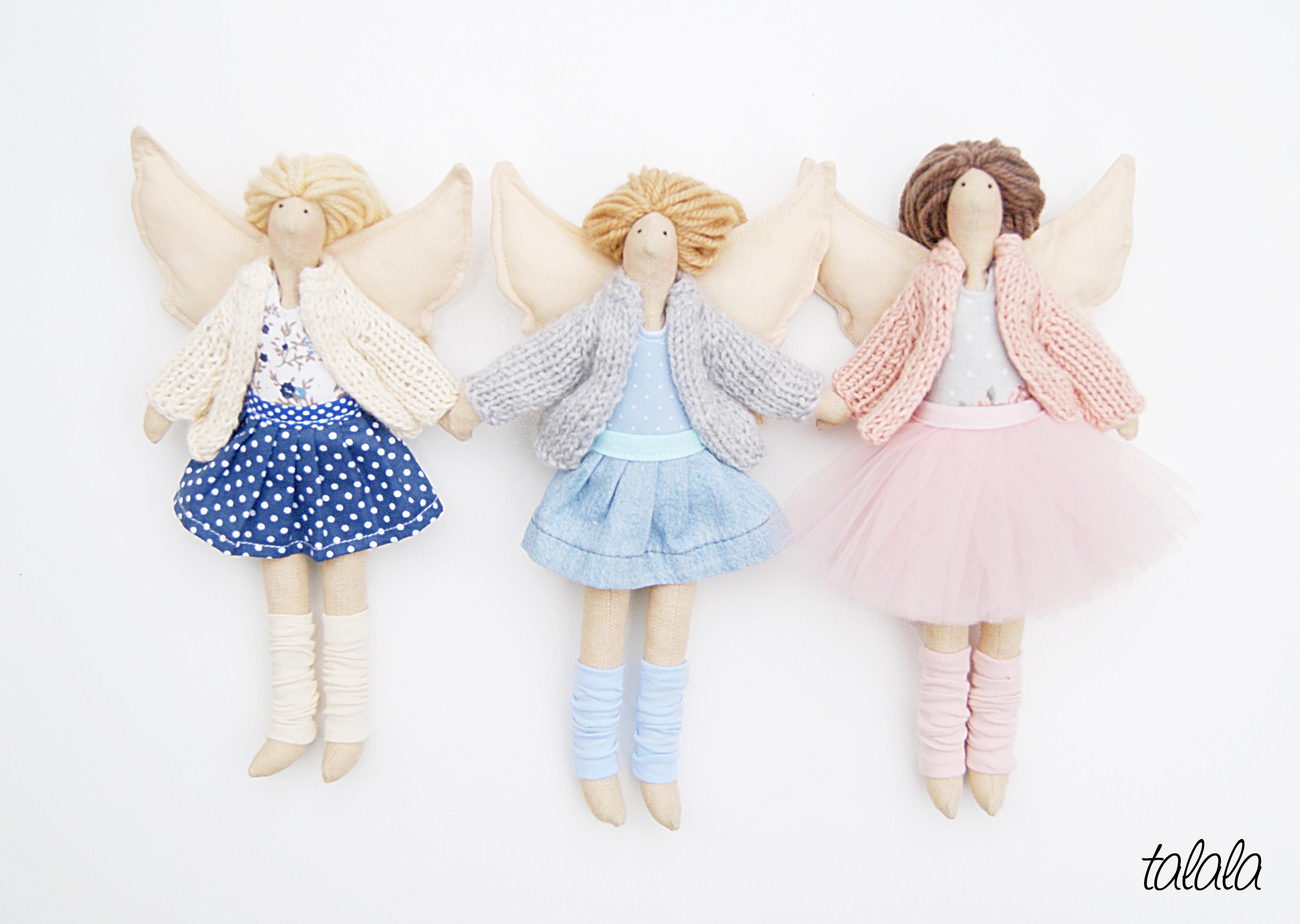 Rozbieralne lalki małe do domku dla lalek