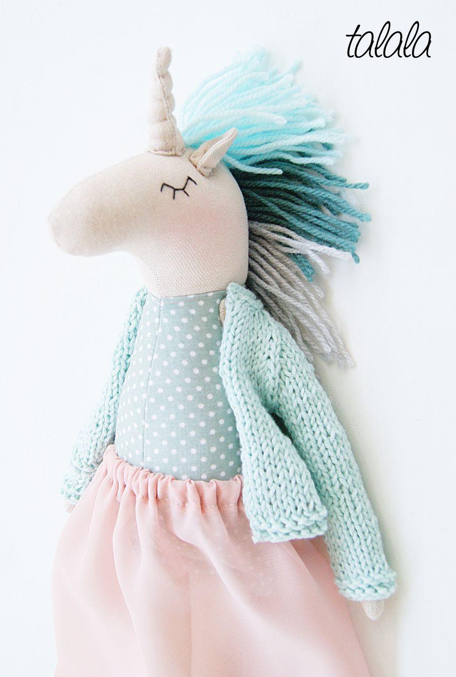 Unicorn Talala polish dolls
