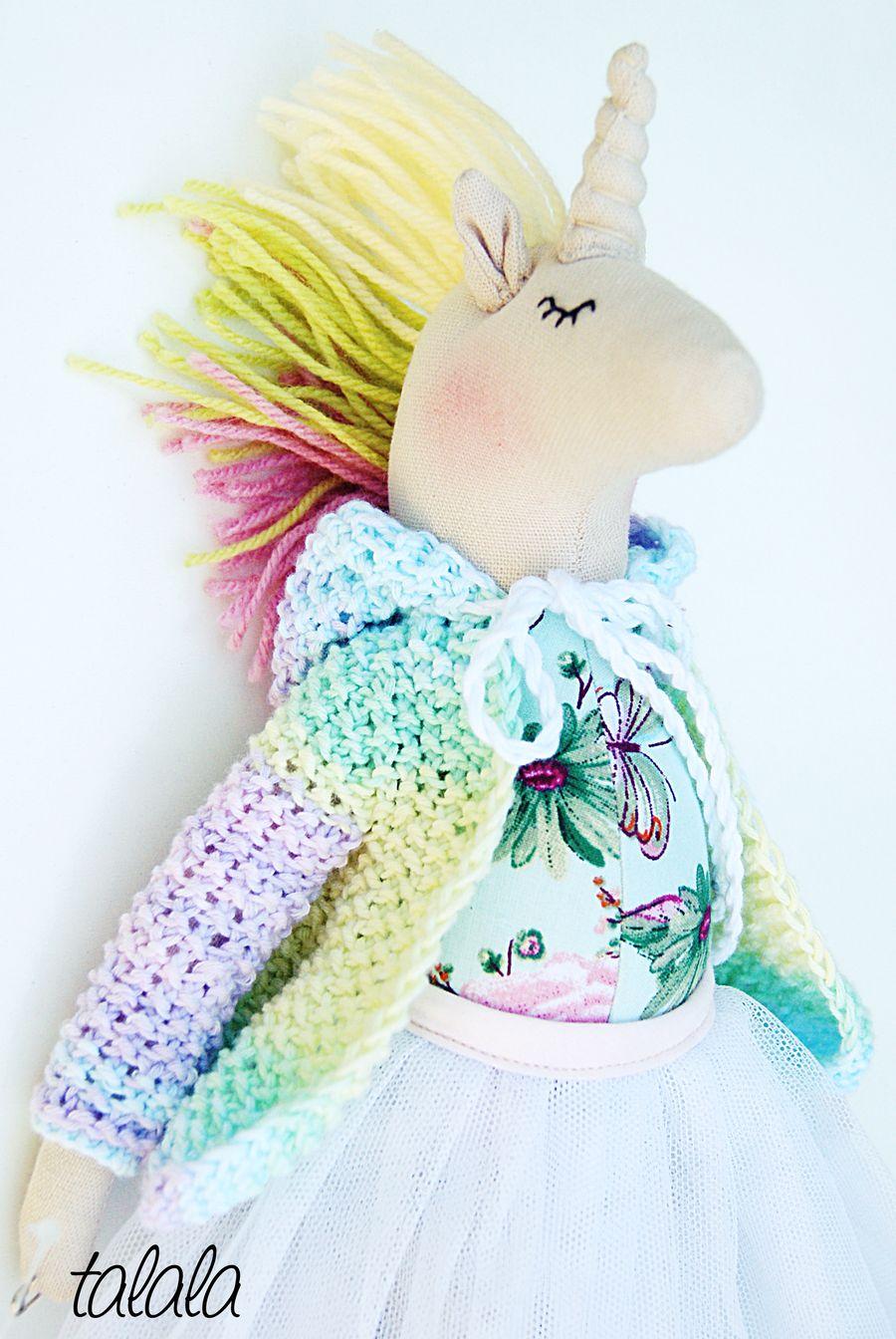 lalka jednorożec Unicorn Talala