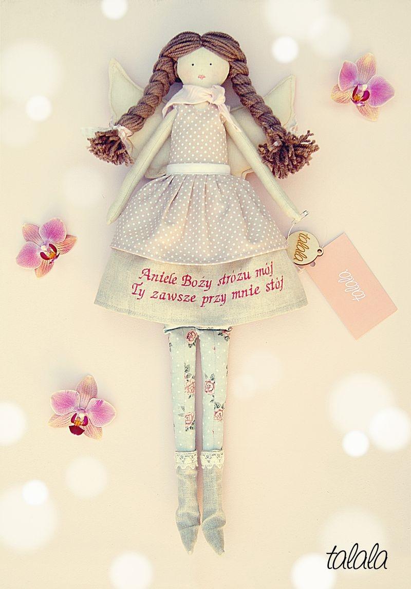 ręcznie szyte lalki