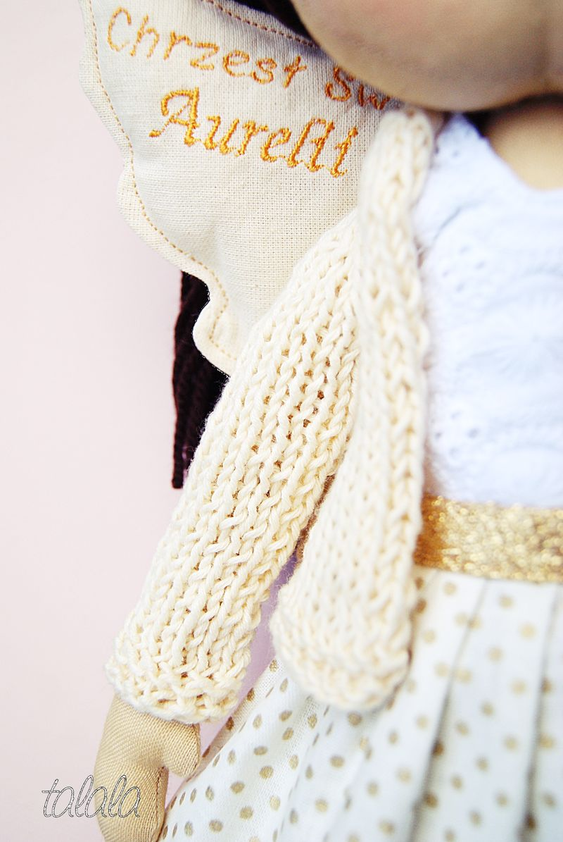 polska lalka ręcznie uszyta