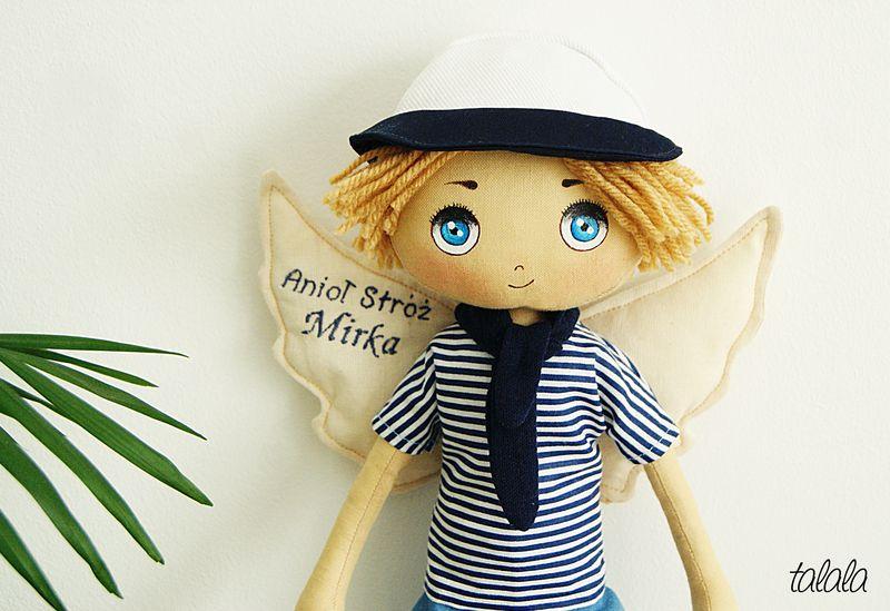 Marynarz lalka handmade