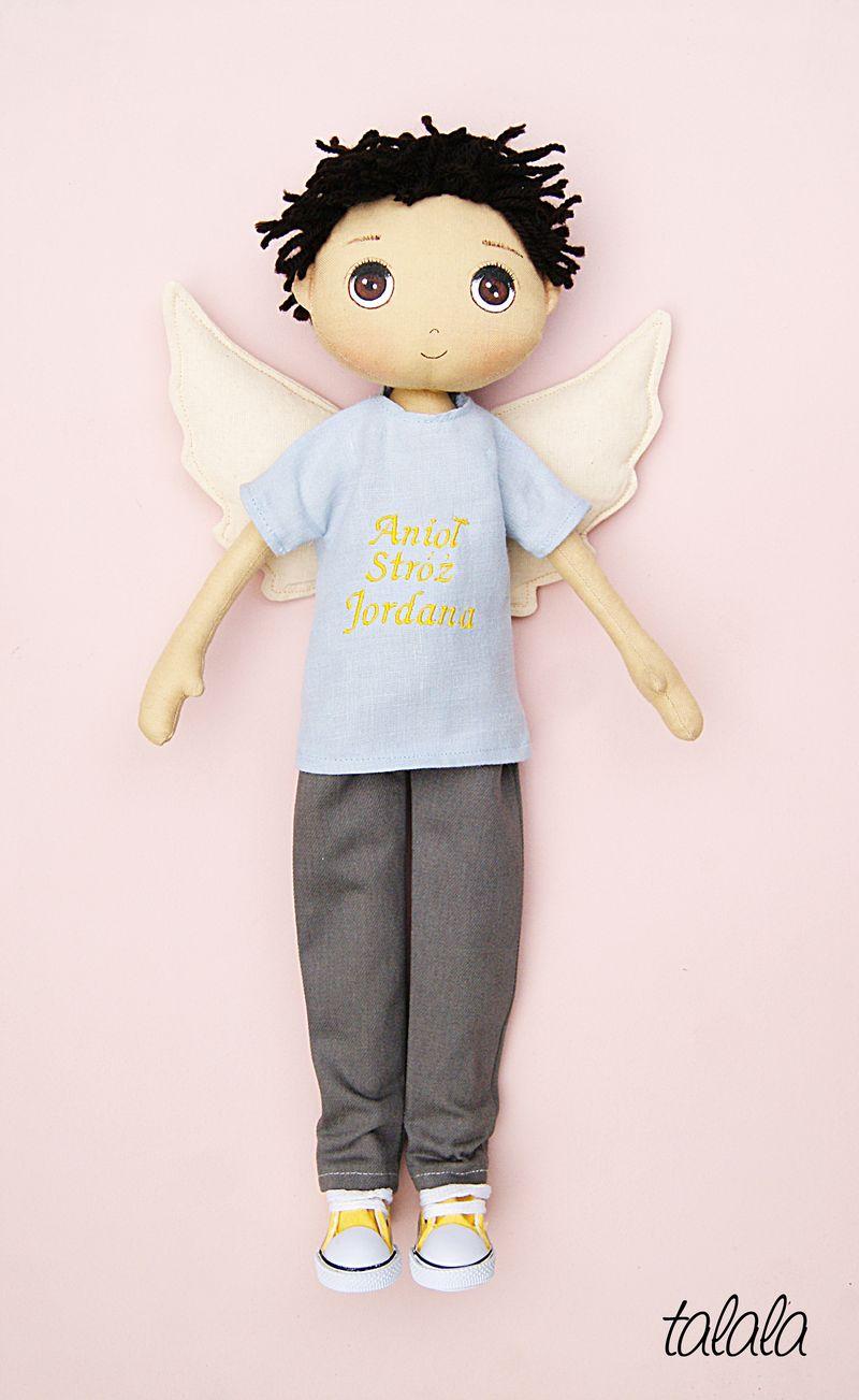 Chłopiec Aniol Stróż