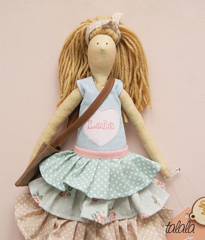 Lola lalka uszyta na zamówienie