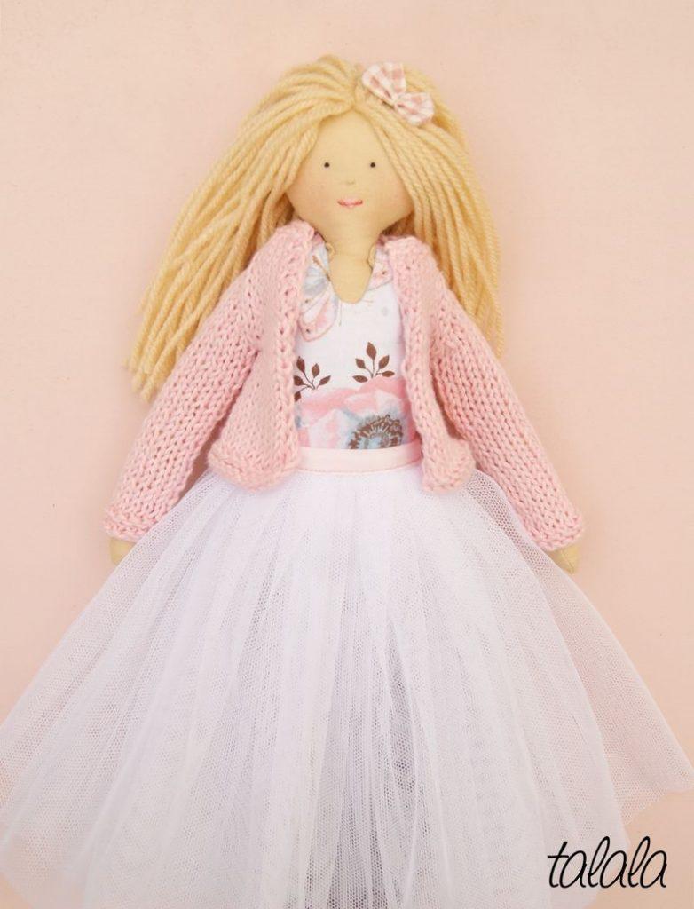 ładne polskie lalki różowe