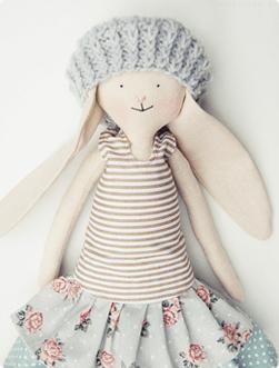 Królik, lalka rozmiar 50 cm
