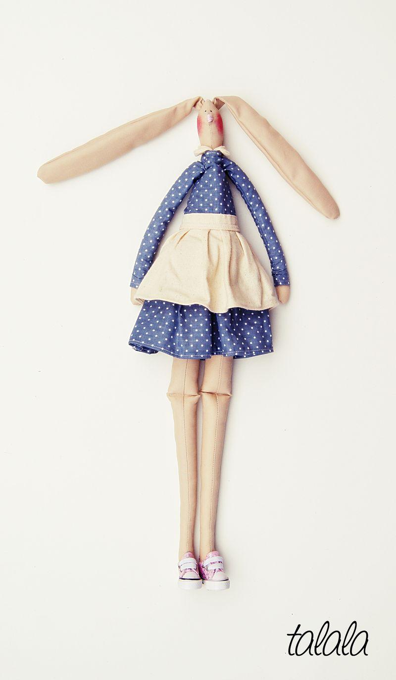 Zając lalka handmade