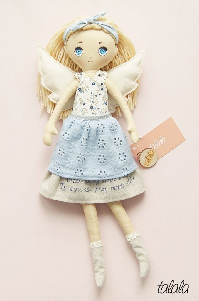 piękne lalki szyte  w polsce