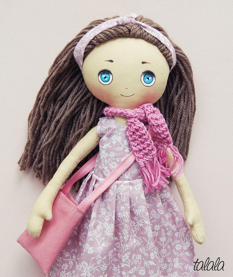 Talala lalka ręcznie malowana