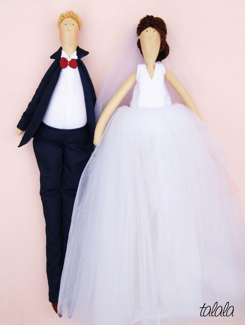 Para Młoda lalki Ślubne