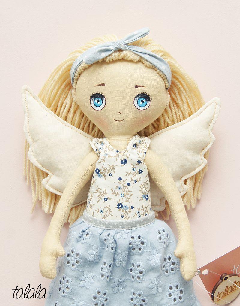 Anioł Stróż lalka ręcznie robiona
