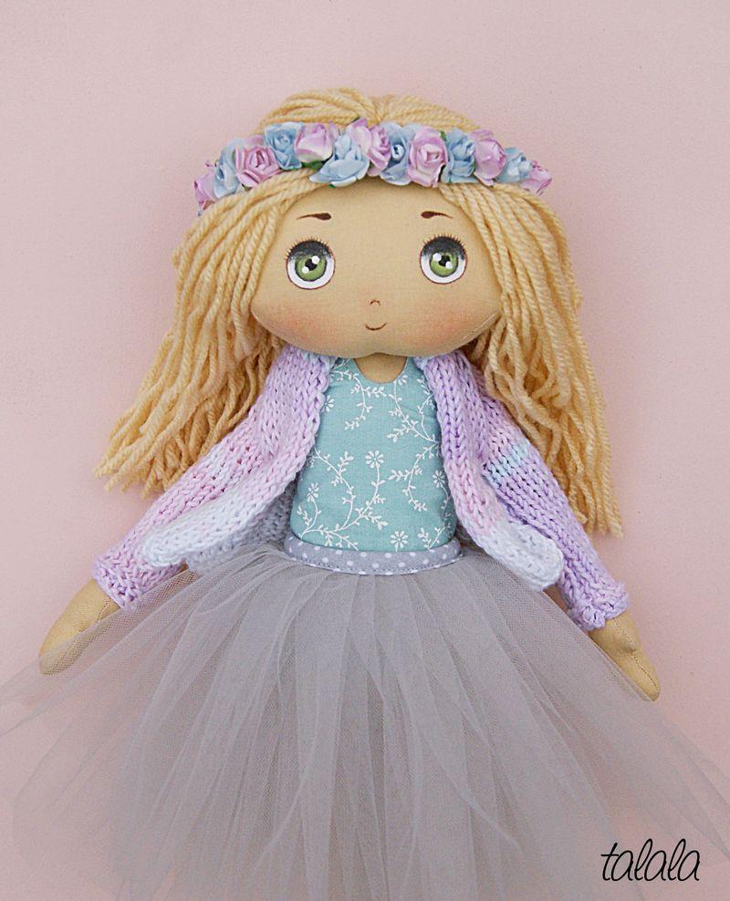 malowana lalka