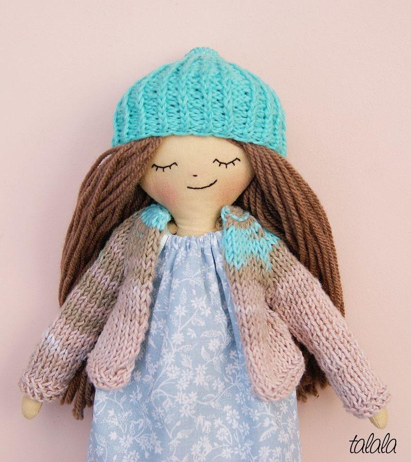 Lalka przytulanka Handmade