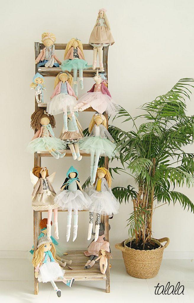 lalki ręcznie robione