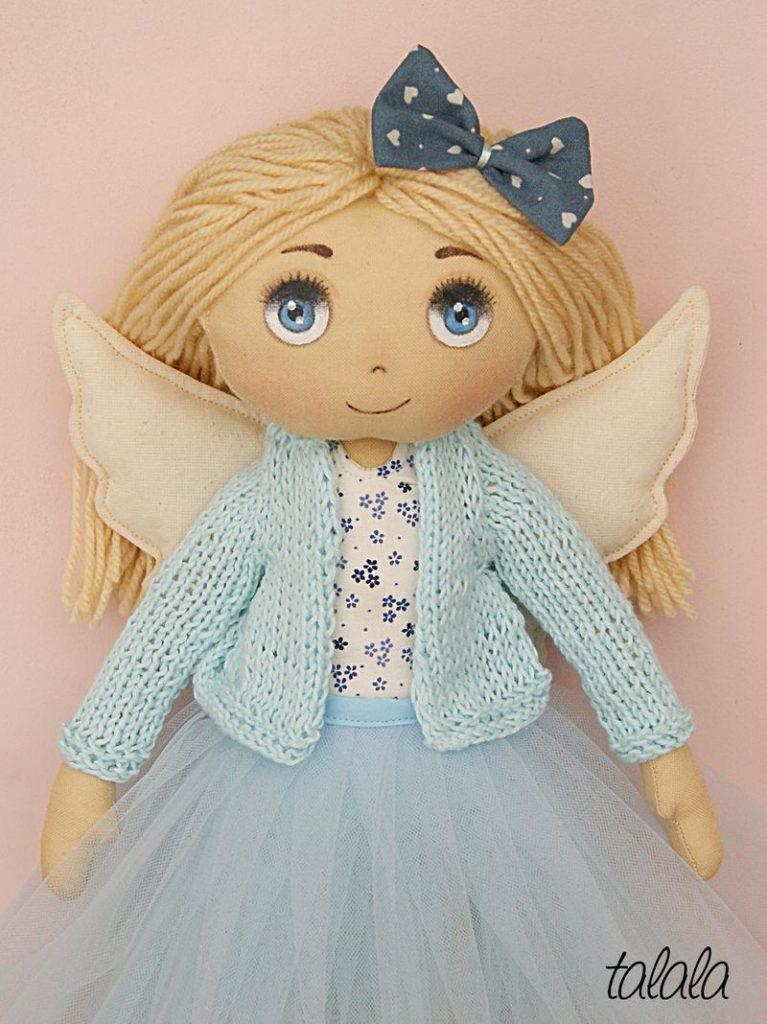lalka Anioł Stróż