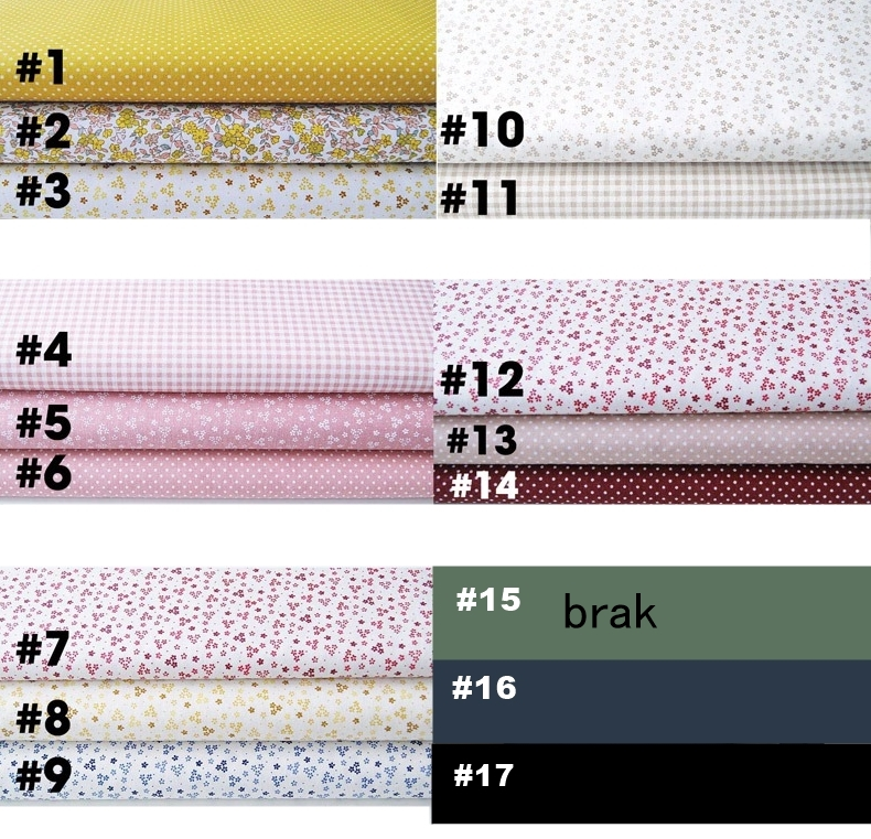 wzory masek bawełnianych
