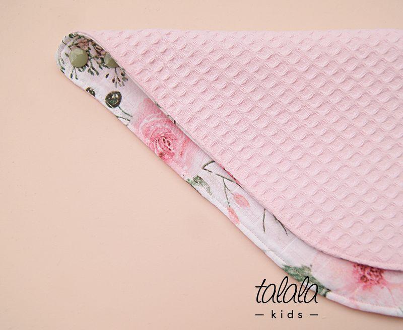 różowa wafel muślin