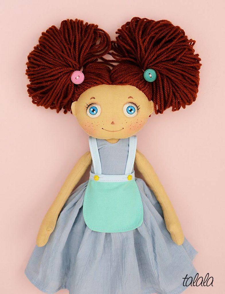 Fruzia lalka szmaciana
