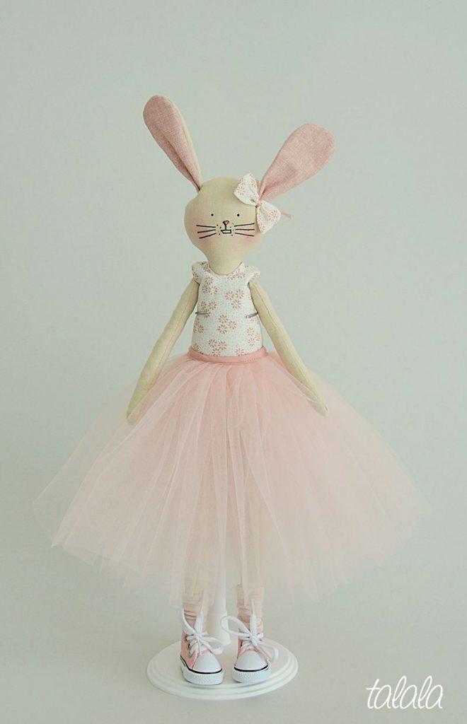 królik naturalna lalka
