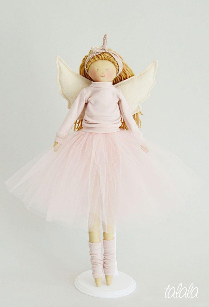 szmaciana lalka baletnica