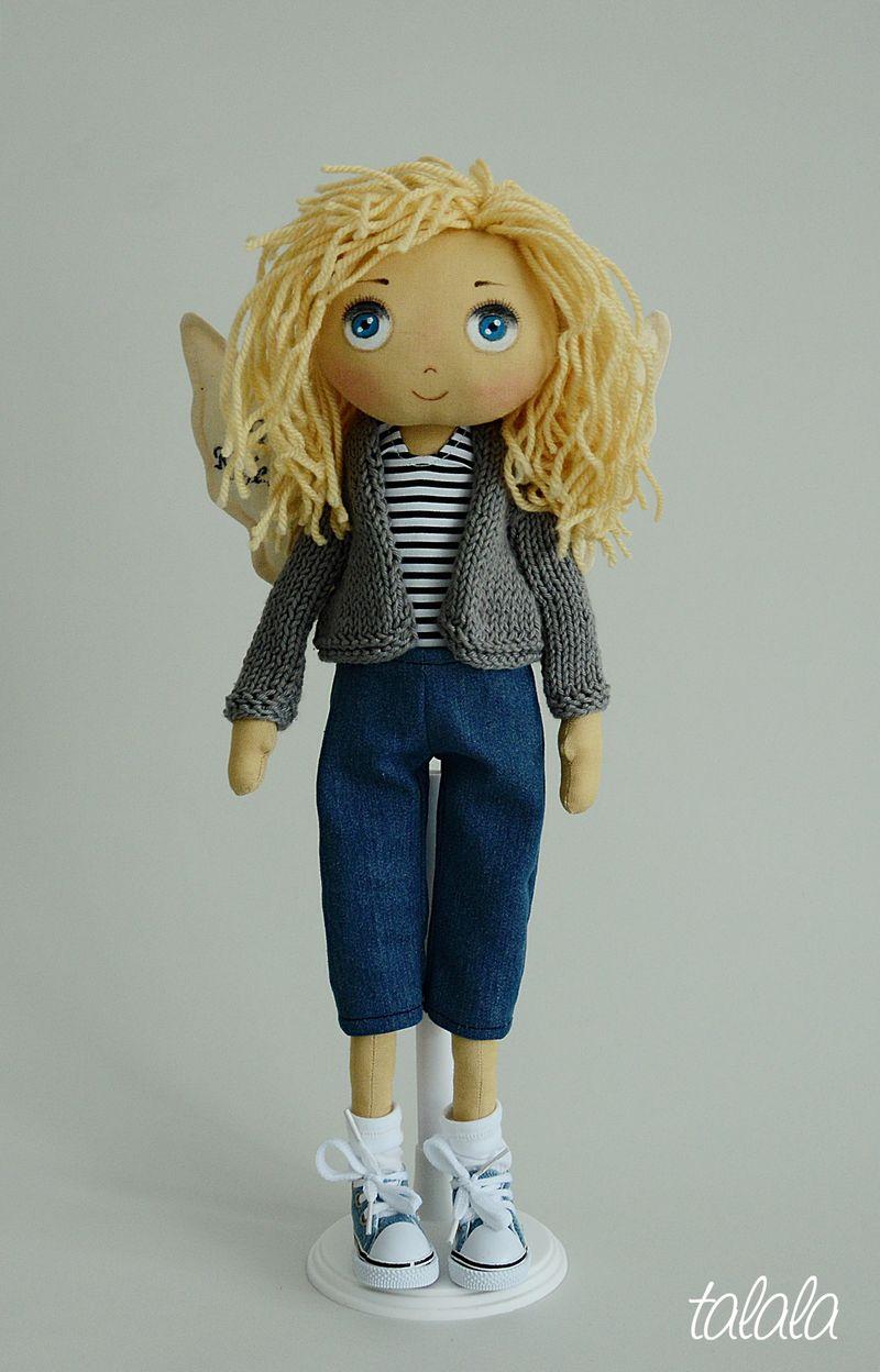 Aniołek lalka szmaciana